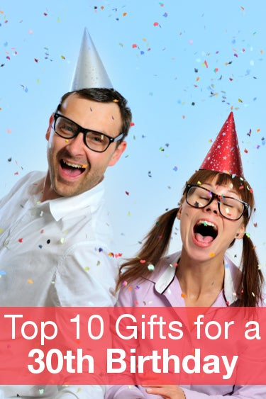 Top 10 Gifts for a 30th Birthday from Overstock™. From understated tokens to festive gifts, here are the most popular 30th birthday gift ideas.