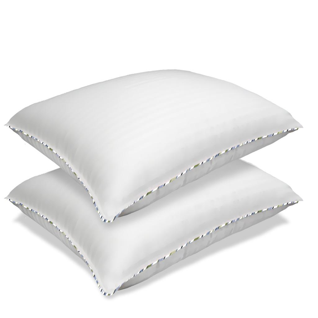 nautica 233 thread count corded bed pillows set of 2
