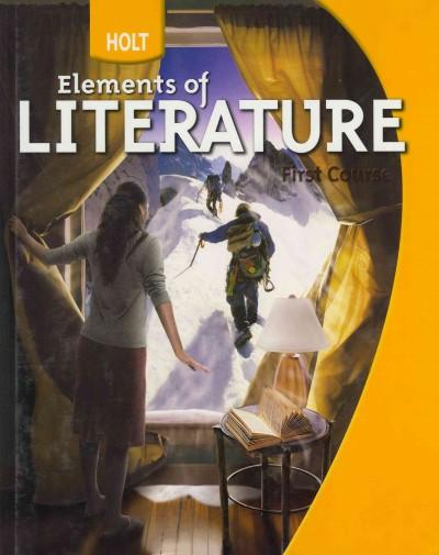 Elements of Literature, First Course (Hardcover)