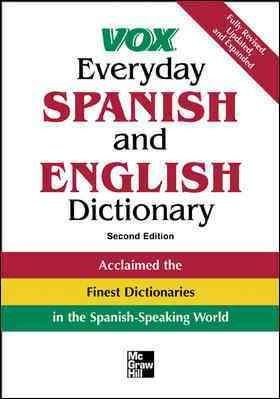 Vox Everyday Spanish And English Dictionary (Paperback)