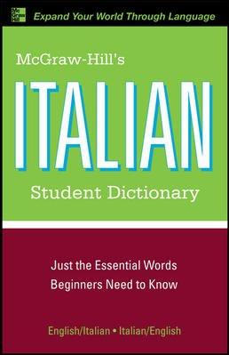 Mcgraw-hill's Italian Student Dictionary (Paperback)