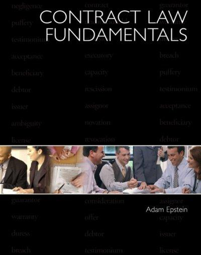Contract Law Fundamentals (Hardcover)