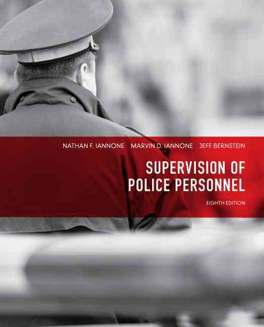 Supervision of Police Personnel (Paperback)