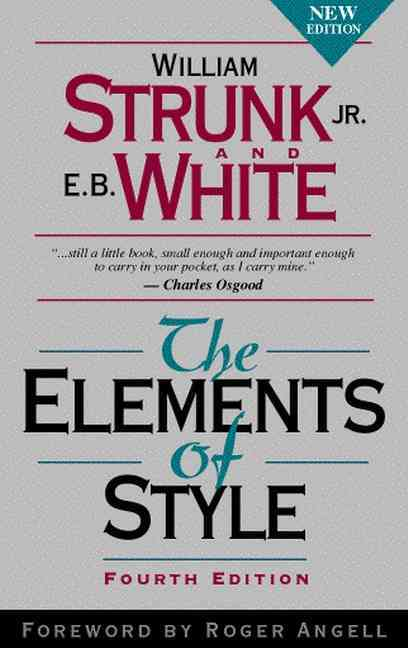 The Elements of Style (Paperback)