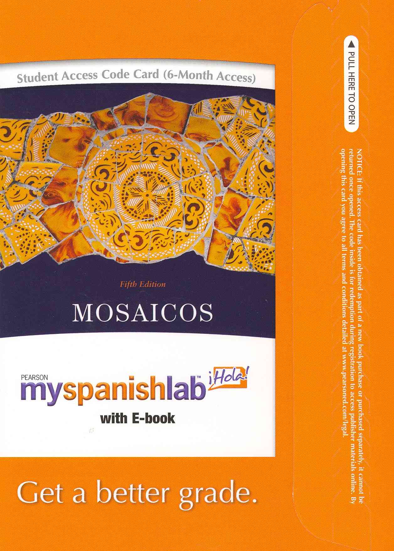 Mosaicos Passcode: 6 Month Access, with E-book (Other merchandise)