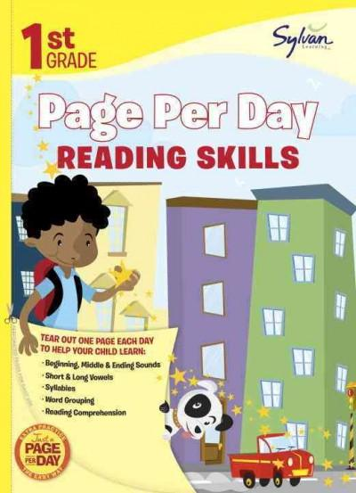 1st Grade Page Per Day: Reading Skills (Paperback)