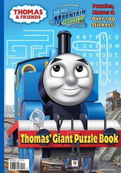 Thomas' Giant Puzzle Book (Paperback)