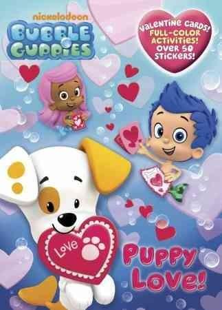 Puppy Love!: Valentine Cards, Full-color Activities With over 50 Stickers (Paperback)