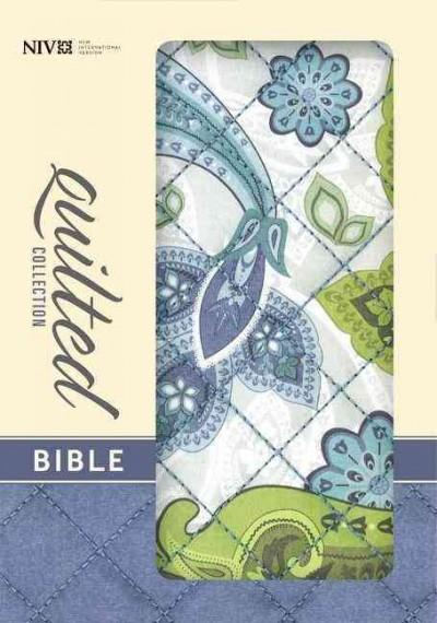Holy Bible: New International Version, Blue Paisley Flexcover, Quilted Collection Bible (Paperback)