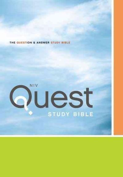 Quest Study Bible: The Question & Answer Bible: New International Version (Hardcover)