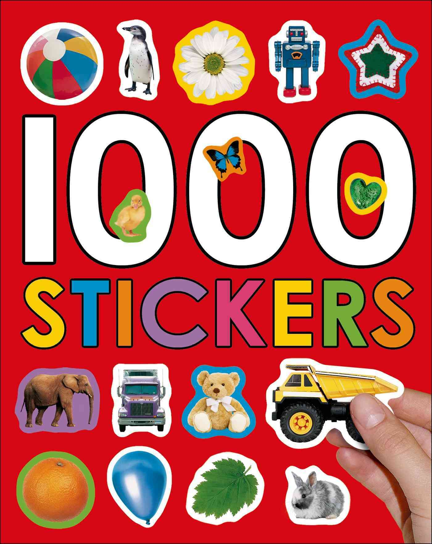 1000 Stickers (Paperback)