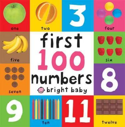 First 100 Numbers (Board book)