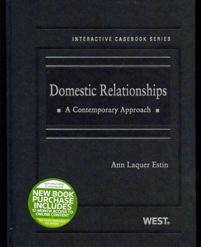 Domestic Relationships: A Contemporary Approach