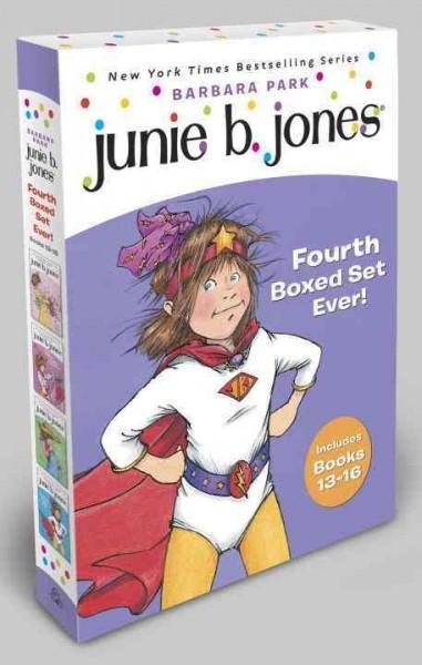 Junie B. Jones's Fourth Boxed Set Ever!: Books 13-16 (Paperback)