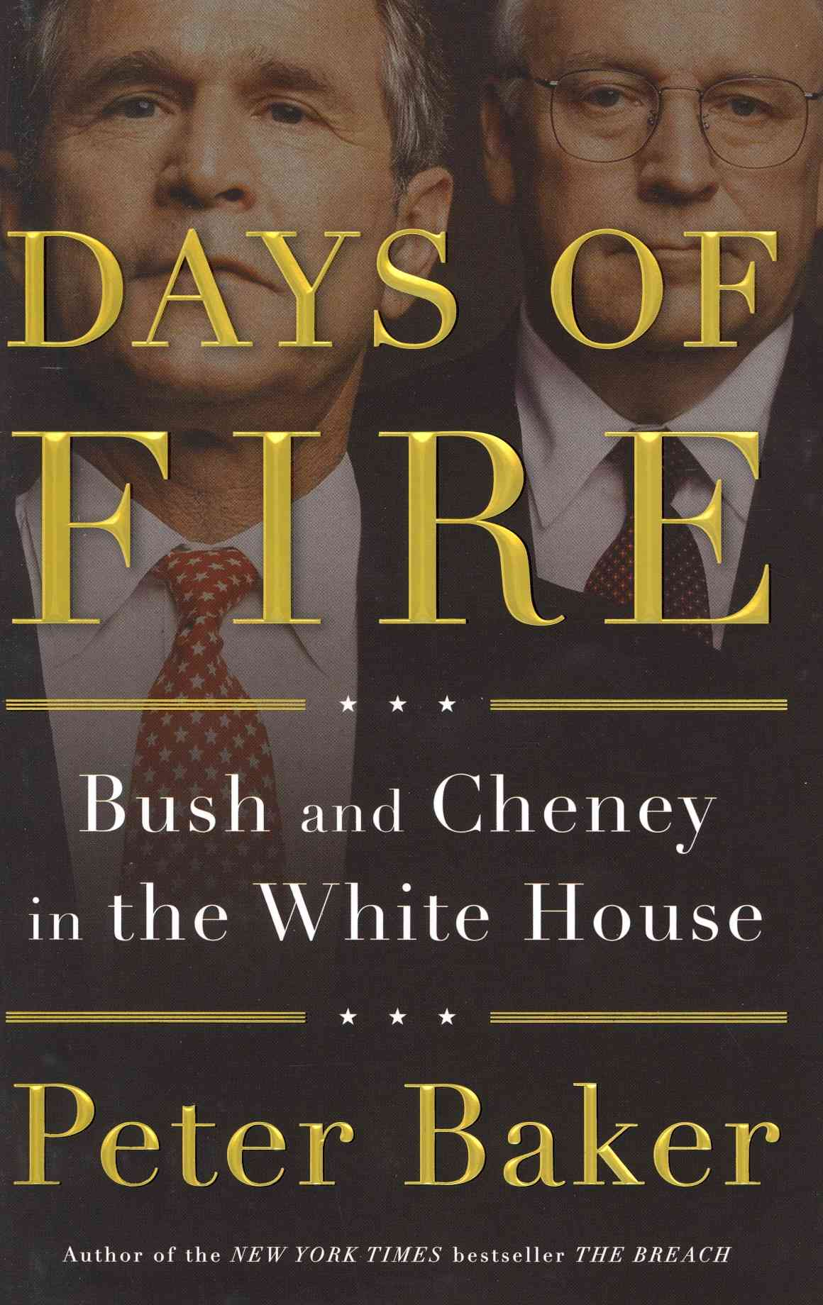 Days of Fire: Bush and Cheney in the White House (Hardcover)