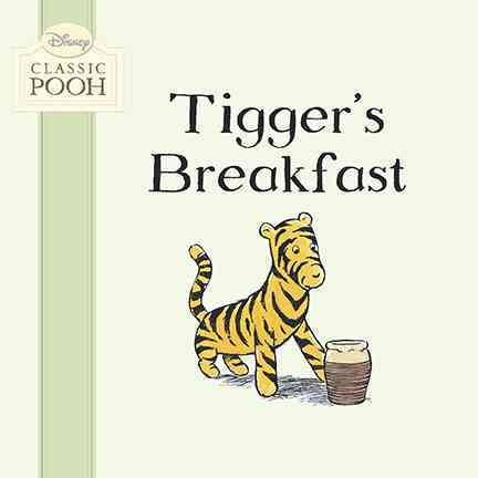 Tigger's Breakfast (Board book)