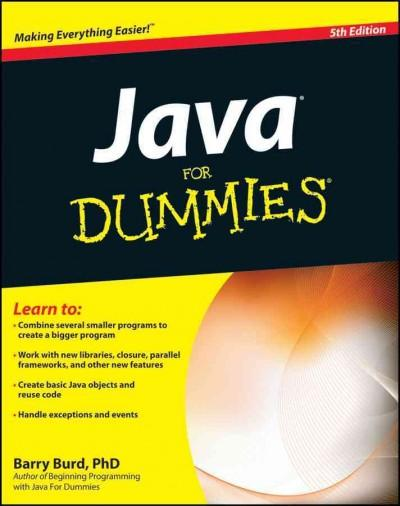 Java for Dummies (Paperback)