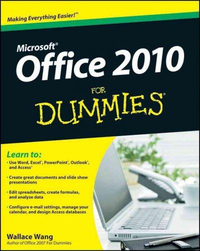 Office 2010 for Dummies (Paperback)