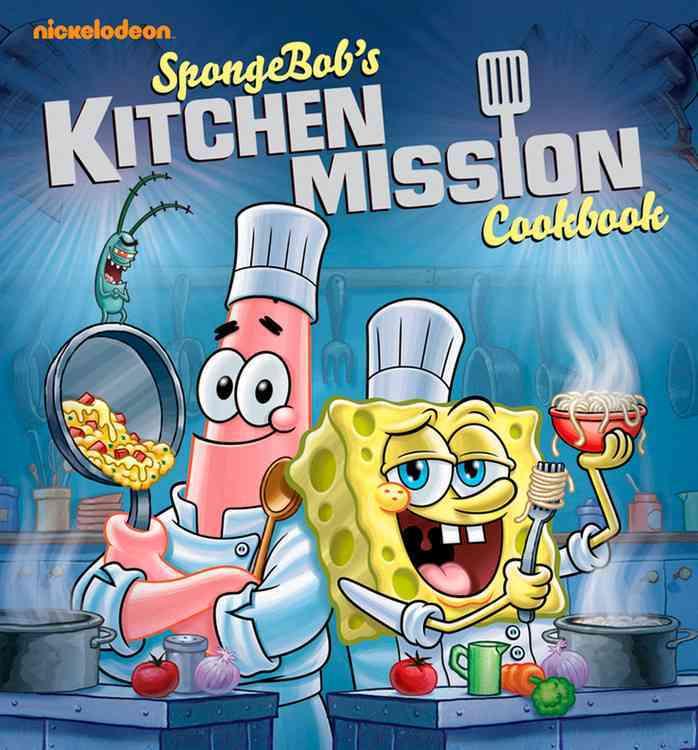 SpongeBob's Kitchen Mission Cookbook (Spiral bound)
