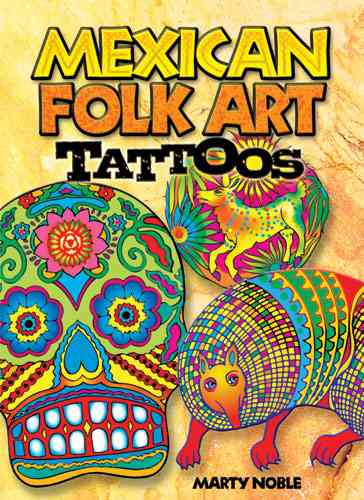 Mexican Folk Art Tattoos (Paperback)
