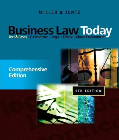 Business Law Today: Comprehensive (Hardcover)