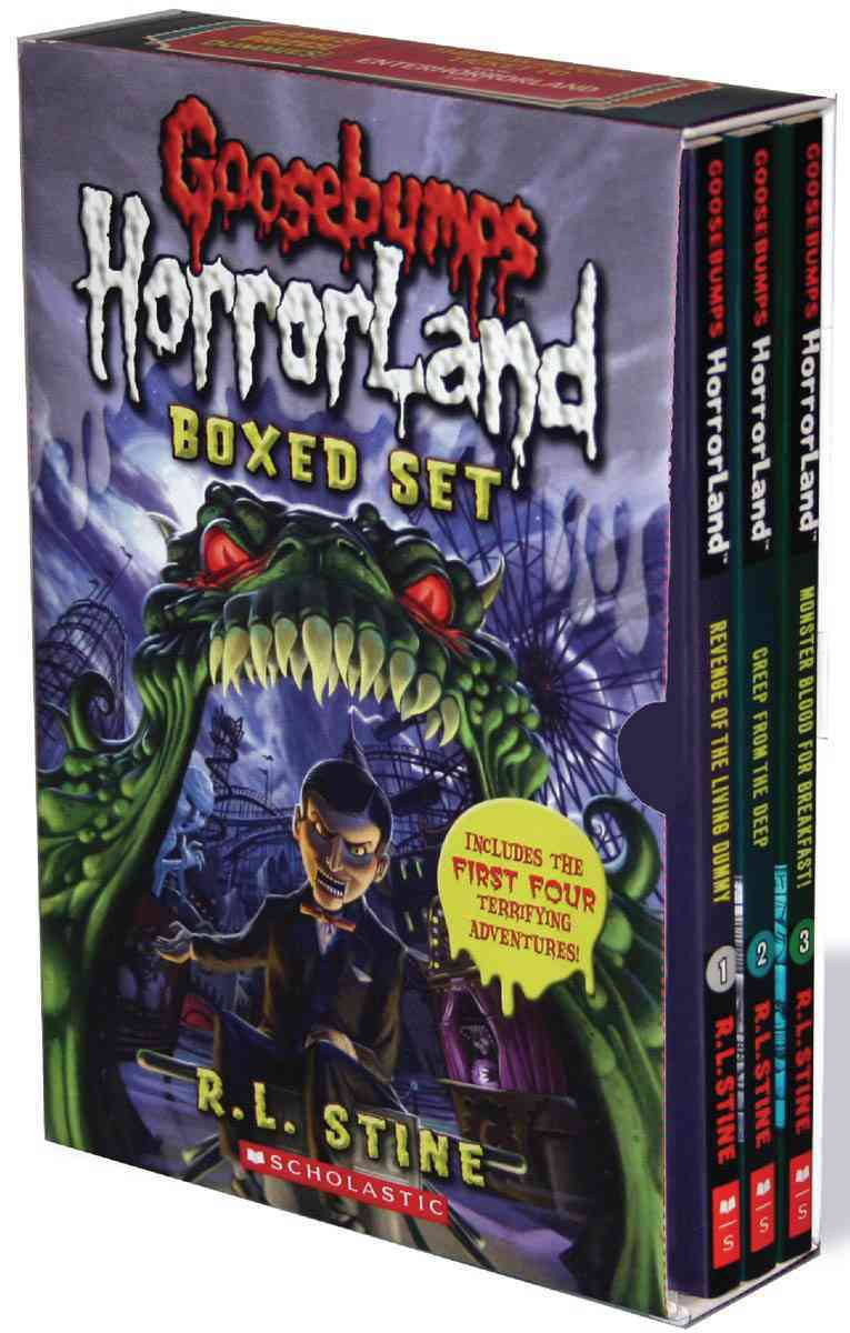 Goosebumps Horrorland Boxed Set (Paperback)