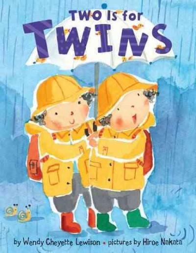 Two Is for Twins (Board book)