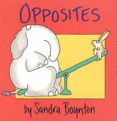 Opposites (Board book)