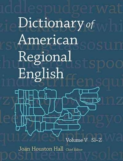 Dictionary of American Regional English (Hardcover)