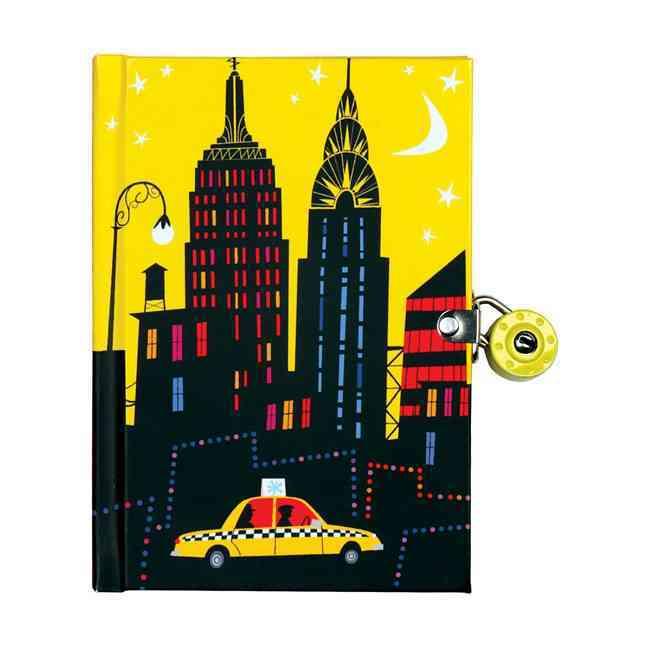 New York City Locked Diary (Diary)