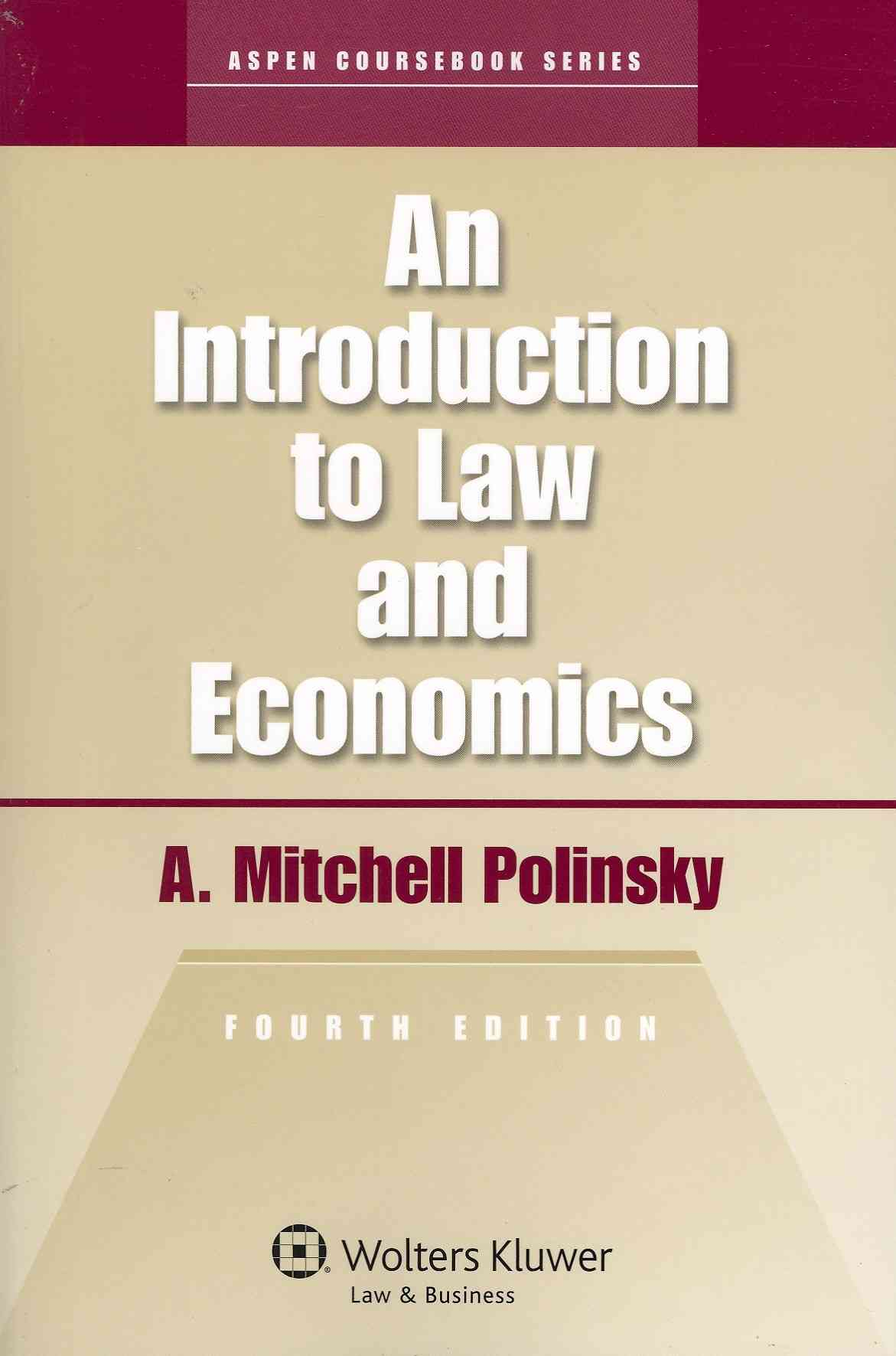 An Introduction to Law and Economics (Paperback)