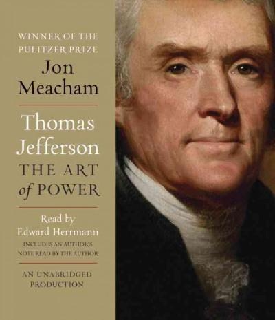 Thomas Jefferson: The Art of Power (CD-Audio)