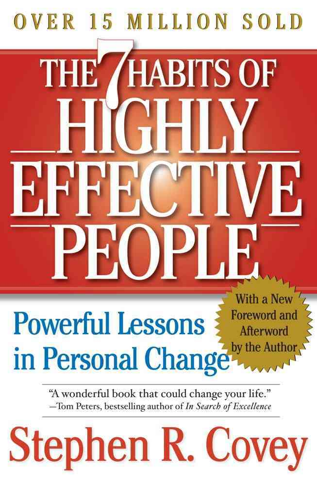 7 Habits Of Highly Effective People 15th Anniversary Edition (Paperback)