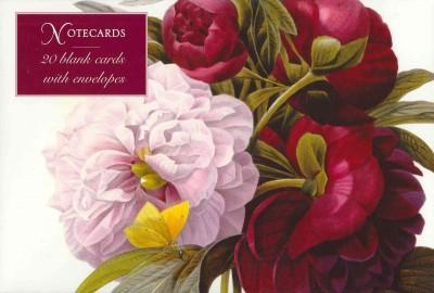 Redoute Peony: Card Box of 20 Notecards and Envelopes (Cards)