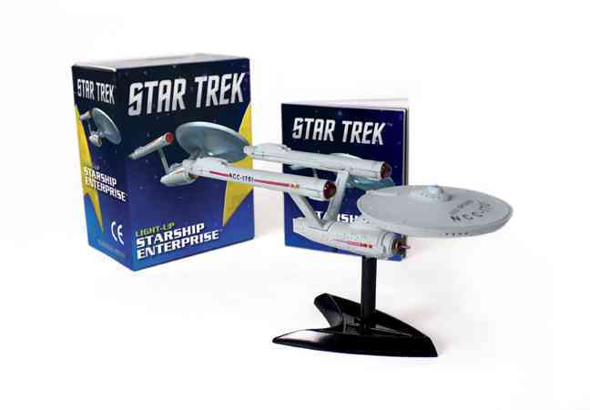 Star Trek Light-up Starship Enterprise