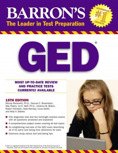 Barron's GED: High School Equivalency Exam (Paperback)