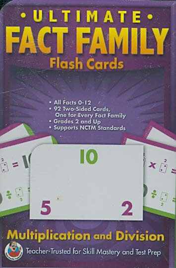 Ultimate Fact Families Flash Cards: Multiplication & Division (Cards)