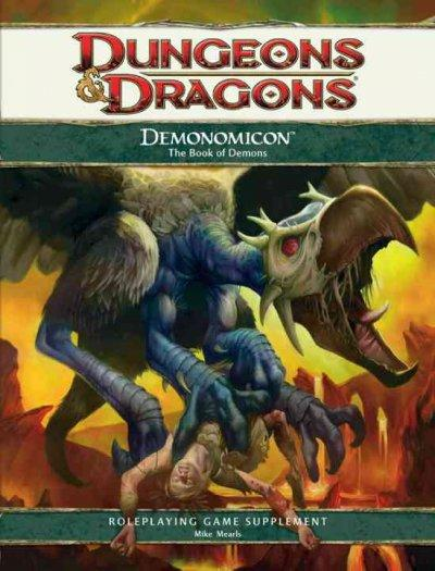 Demonomicon: Roleplaying Game Supplement (Hardcover)
