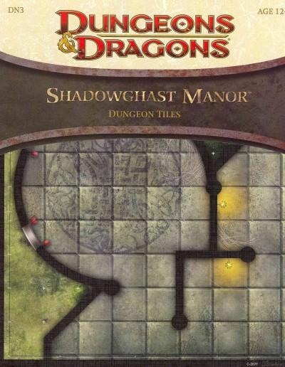 Shadowghast Manor Dungeon Tiles (Hardcover)