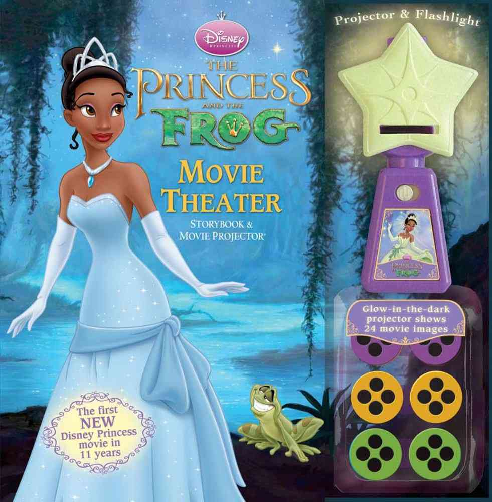 The Princess and The Frog Movie Theater Storybook & Movie Projector (Mixed media product)