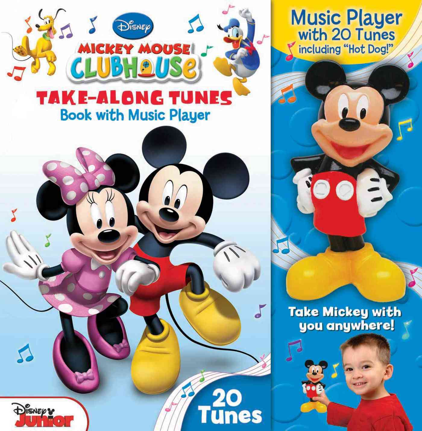 Disney Mickey Mouse Clubhouse Take-Along Tunes: Book With Music Player