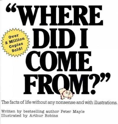 Where Did I Come from (Paperback)