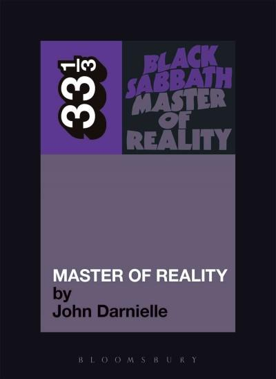 Master of Reality: 33 1/3 (Paperback)