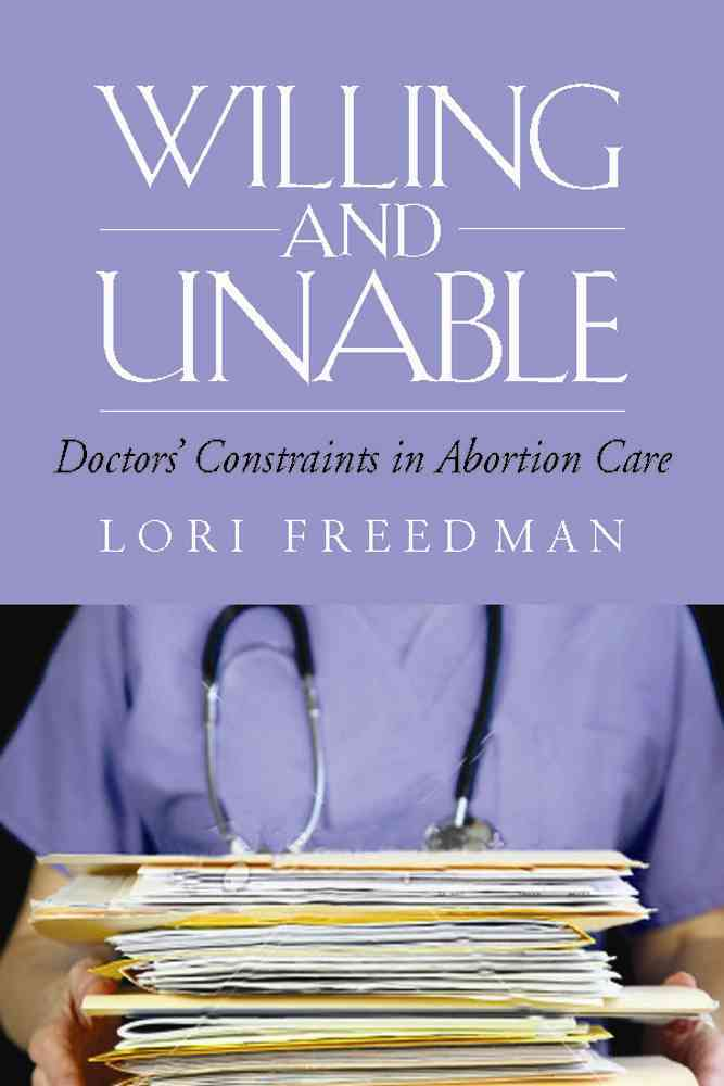 Buy personal care hmo - Willing and Unable: Doctors\' Constraints in Abortion Care (Paperback)