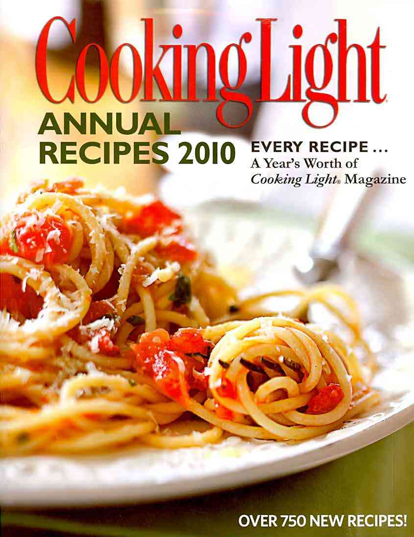 Cooking Light Annual Recipes 2010 (Hardcover)