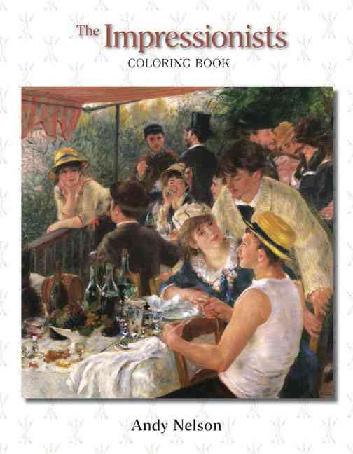 The Impressionists: Coloring Book (Paperback)