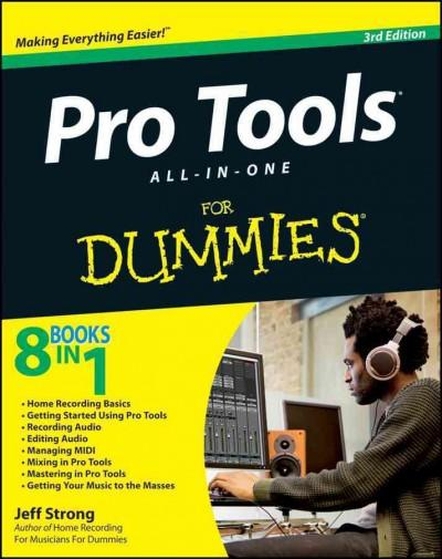 Pro Tools All-in-One for Dummies (Paperback)