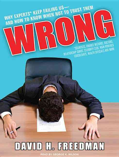 Wrong Why Experts Scientists Finance Wiz (MP3-CD)