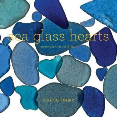Sea Glass Hearts 2014 Calendar (Calendar)