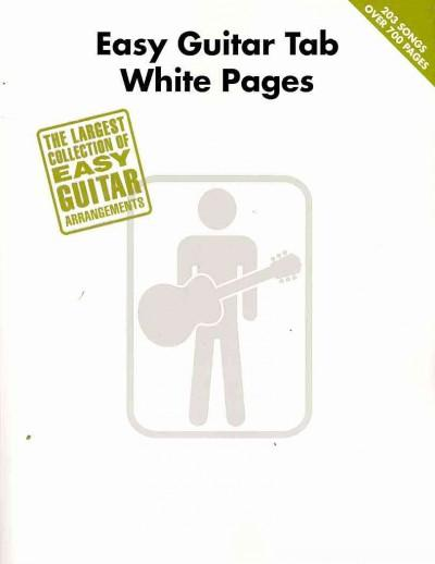 Easy Guitar Tab White Pages (Paperback)